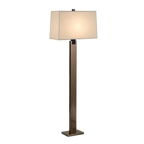 3306.5 Sonneman Monolith Contemporary Floor Lamp with Black Nickel Finish