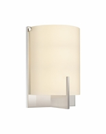 3671.01 Sonneman Arc Edge Contemporary ADA Wall Sconce with Polished Chrome Finish