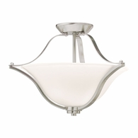 3681NI Kichler Transitional Inverted Pendant/Semi Flush 2Lt