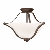 3681OZ Kichler Transitional Inverted Pendant/Semi Flush 2Lt