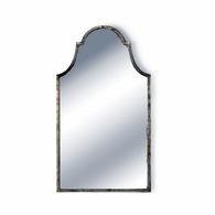 381694 Chelsea House Lisa Kahn Iron/Mirror Antique Silver/Antique Architectural Arch Mirror