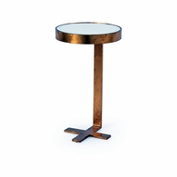 382004 Lisa Kahn Mitchell Side Table - Gold