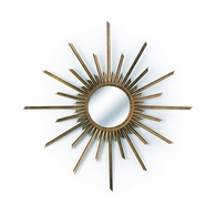 382313 Chelsea House Lisa Kahn Antique Gold Finish Lisa Kahn Design Mirror Ra