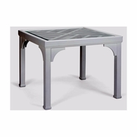 383303 Chelsea House Jamie Merida Wood White Bolton Game Table
