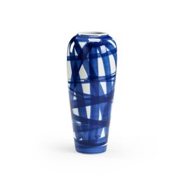 383592 Chelsea House Johnsbury Vase - Blue (Large)