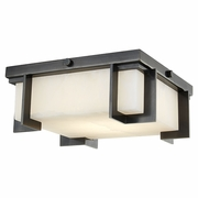 3910 Hudson Valley Delmar Led Small Flush Mount