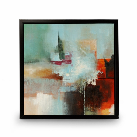 394991 Wildwood Lamps Framed Oil Painting