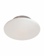"4156.13 Sonneman Saturn Contemporary 14"" Surface Mount with Satin Nickel Finish"