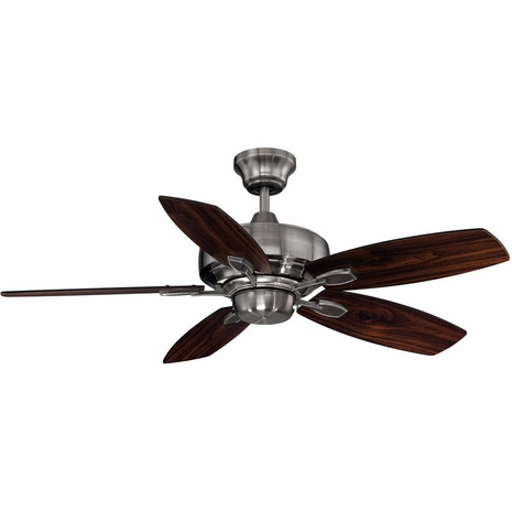 """42-830-5RV-187 Savoy House Mission  Wind Star 42"""" Ceiling Fan in Brushed Pewter"""