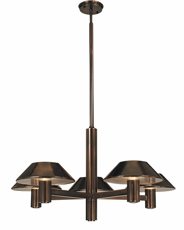 4245 Framburg Lighting Cambridge 5 Light Dining Chandelier