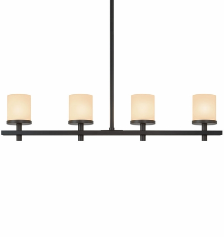 4264 Sonneman Lighting Architectural Alta Collection 4 Light Pendant