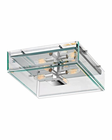 4285.01 Sonneman Mercer Street Urban Edge Surface Mount with Polished Chrome Finish