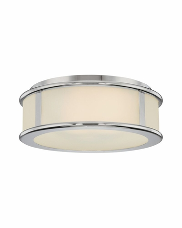 4334.35 Sonneman Transitional Rivello 15 inch Surface Mount in Polished Nickel Finish