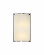 "4350.13 Sonneman Roxy Contemporary ADA 12"" Wall Sconce with Satin Nickel Finish"