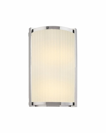 4350.35 Sonneman Transitional Roxy 12 inch Sconce in Polished Nickel Finish