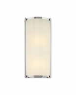 "4351.35 Sonneman Roxy Contemporary ADA 18"" Wall Sconce with Polished Nickel Finish"