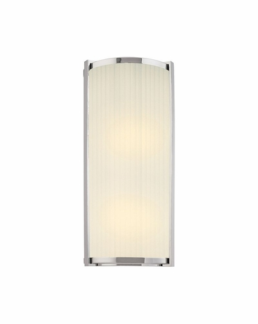 """4351.35 Sonneman Roxy Contemporary ADA 18"""" Wall Sconce with Polished Nickel Finish"""