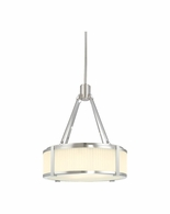 "4352.13 Sonneman Roxy Contemporary 16"" Pendant with Satin Nickel Finish"