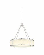 "4353.35 Sonneman Roxy Contemporary 22"" Pendant with Polished Nickel Finish"