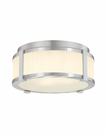 4354.13 Sonneman Transitional Roxy 12 inch Surface Mount in Satin Nickel Finish