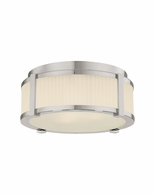 "4354.35 Sonneman Roxy Contemporary 12"" Surface Mount with Polished Nickel Finish"