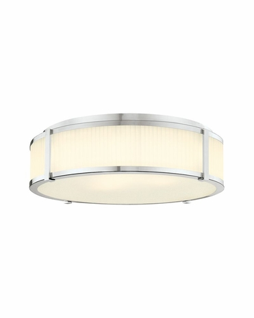 4356.35 Sonneman Transitional Roxy 22 inch Surface Mount in Polished Nickel Finish