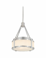 "4358.13 Sonneman Roxy Contemporary 12"" Pendant with Satin Nickel Finish"