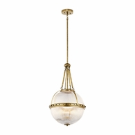 43968NBR Kichler Transitional Pendant 3Lt