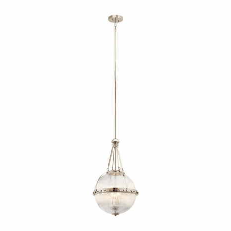 43968PN Kichler Transitional Pendant 3Lt