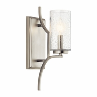 44070NI Kichler Arts and Crafts Mission Wall Bracket Wall Sconce 1Lt