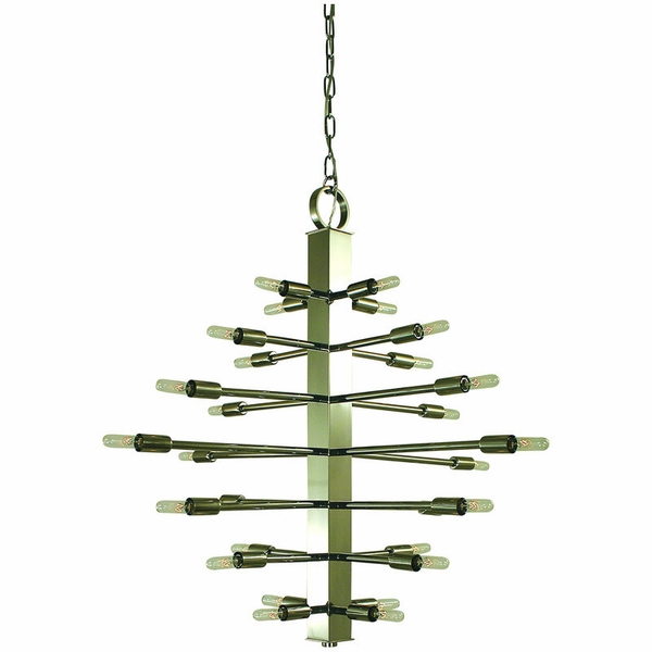 4408 Framburg Simone 28 Light Foyer Chandelier