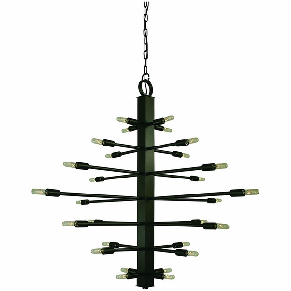 4409 Framburg Simone 28 Light Foyer Chandelier