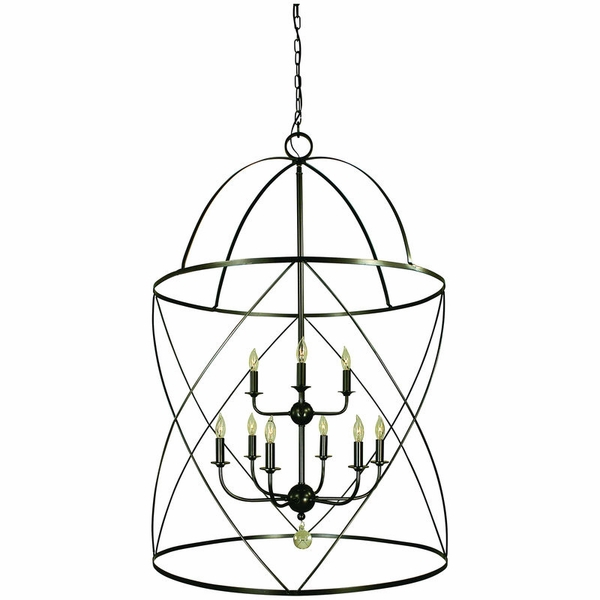 4419 Framburg Nantucket 6 Light Foyer Chandelier