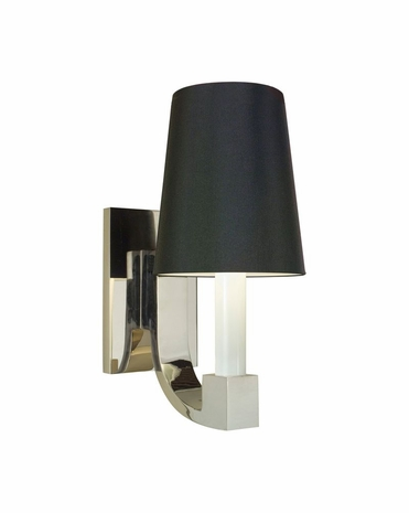 4422.35K Sonneman Transitional Romano Sconce in Polished Nickel Finish