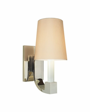 4422.35W Sonneman Transitional Romano Sconce in Polished Nickel Finish