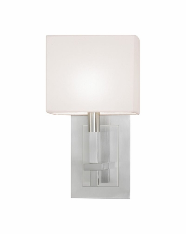 4435.13 Sonneman Montana Contemporary Wall Sconce with Satin Nickel Finish