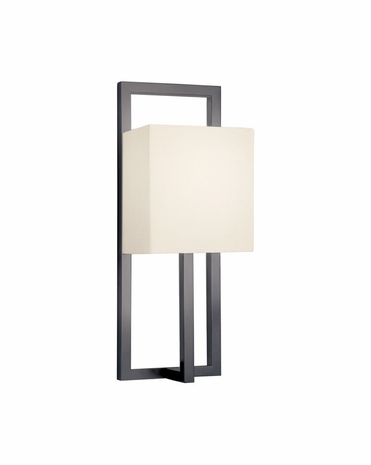 4441.32 Sonneman Linea Contemporary ADA Tall Wall Sconce with Black Bronze Finish