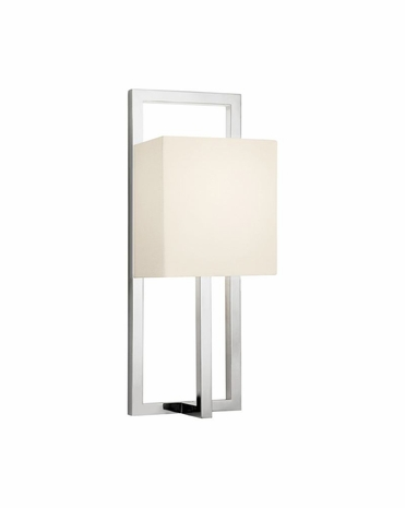 4441.35 Sonneman Linea Contemporary ADA Tall Wall Sconce with Polished Nickel Finish