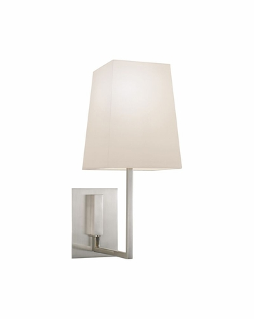4445.13 Sonneman Verso Contemporary Wall Sconce with Satin Nickel Finish