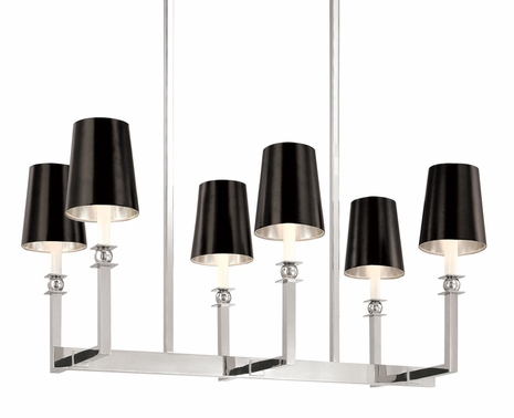 4456 Sonneman Lighting Gem Collection 6 Light Pendant