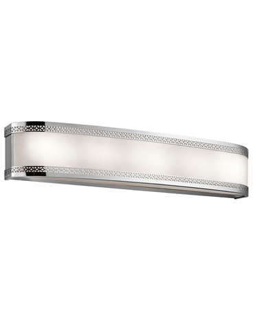 45854CHLED Kichler Transitional Contessa Linear Bath 30in LED (chrome)