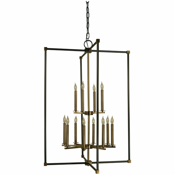 4610 Framburg Lexington 12 Light Foyer Chandelier