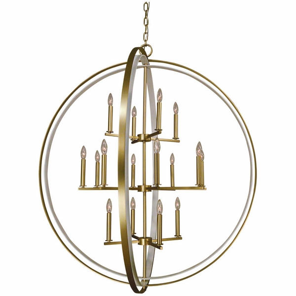 4656 Framburg Constell 16 Light Foyer Chandelier