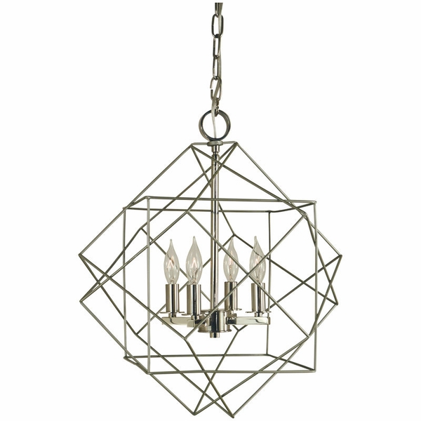 4704 Framburg Etoile 4 Light Mini Chandelier