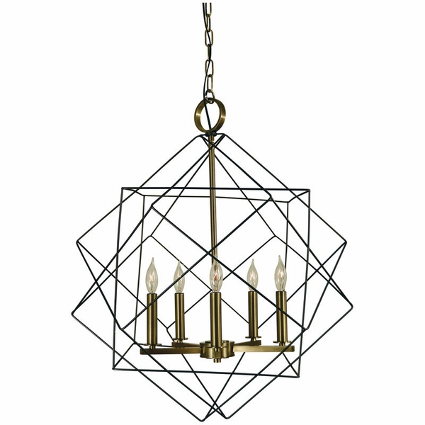 4705 Framburg Etoile 5 Light Dining Chandelier