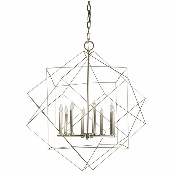 4708 Framburg Etoile 8 Light Foyer Chandelier