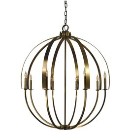 4728 Framburg Luna 8 Light Foyer Chandelier