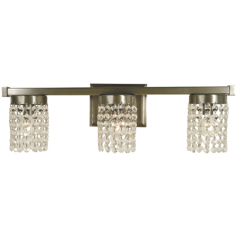 4743 Framburg Gemini 3 Light Bath and Sconce