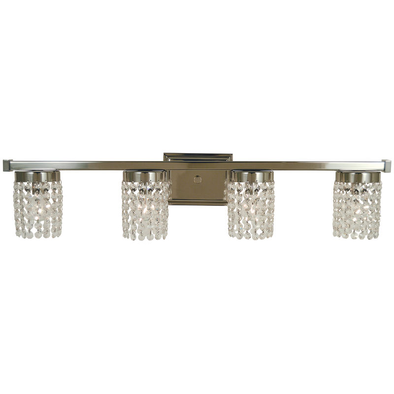 4744 Framburg Gemini 4 Light Bath and Sconce