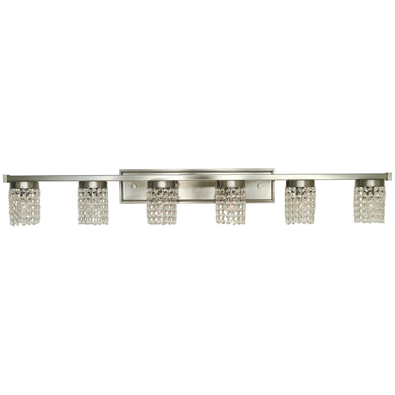 4746 Framburg Gemini 6 Light Bath and Sconce